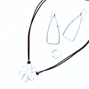 Fun With Flowers Necklace