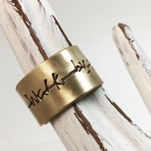 Walk By Faith Ring- CrossWords Jewelry
